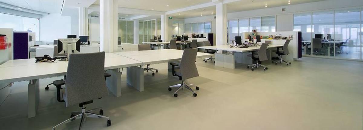 kantoorvloeren, kantoorvloer