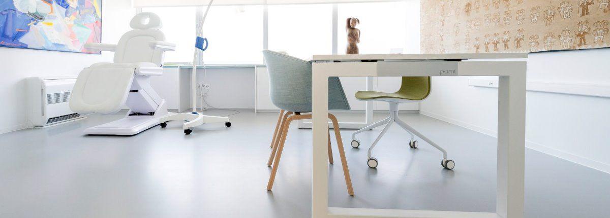 ziekenhuisvloer, laboratorium vloer